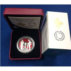 "Canada 2015 $1 100th Anniversary of ""In Flanders Fields"" Limited Edition Proof Silver Dollar Coin"
