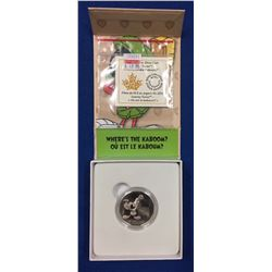 "Canada 2015 $10 Looney Tunes ""Where's The Kaboom?"" Marvin the Martian Silver Coin"