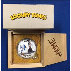 Canada 2015 $30 Looney Tunes Classic Scenes: Fast and Furry-ous Silver Coin