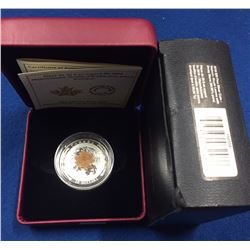 Canada 2016 $20 Majestic Maple with Drusy Stone Silver Coin