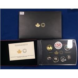 Canada 2017 Limited Edition Silver Dollar Proof Set - Canada 150: Our Home and Native Land