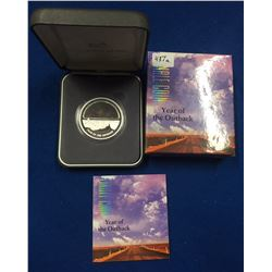 Australia 2002 $5 Year of the Outback Silver Coin