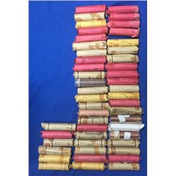 Canada Lot of 49 1 Cent Rolls. Mostly 40s to 60s. Unsearched. Circulated.