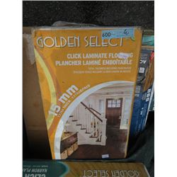 3 Boxes of Golden Select Click Laminate Flooring