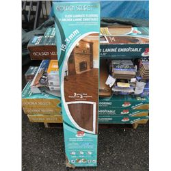 4 Boxes of Golden Select Laminate Flooring