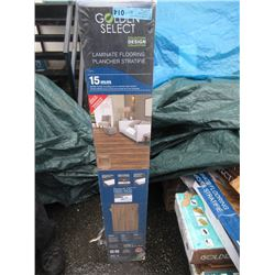 5 Boxes of Golden Select Laminate Flooring