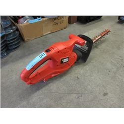"Black & Decker Electric 16"" Hedge Trimmer"
