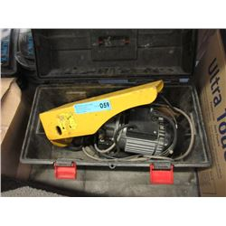 Tool Box with Electric Motor & More