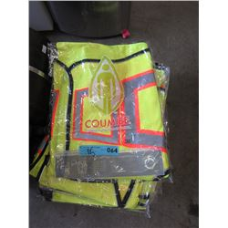 15 New 2XL Safety Vests