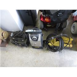 3 Electric Pressure Washers