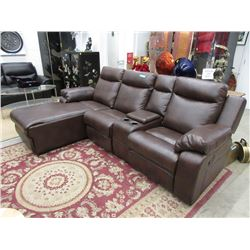 "New 97"" Double Reclining Sofa with Chaise End"