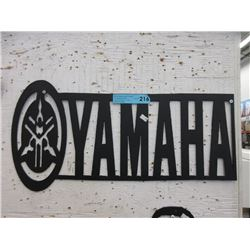 Sheet Metal Yamaha Sign