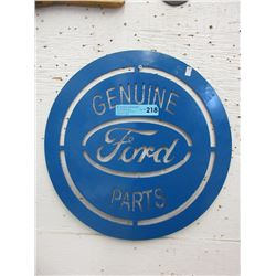 Sheet Metal Ford Sign
