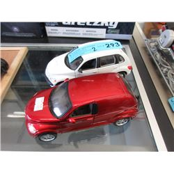 2 Scale Model Cars - 1:24 Scale
