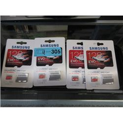 4 New Samsung Micro UHS-1 Cards