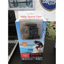 1080p Waterproof Sports Cam