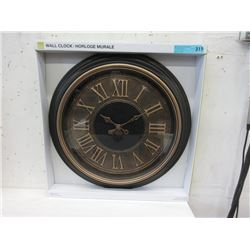 "New 23"" Wall Clock with Glass Lens"