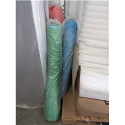 3 Bolts of New Polyester Fabric