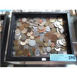 3 Pounds of Assorted Coins & Tokens - World Wide