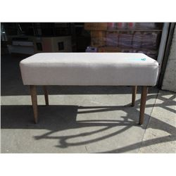 New Porter Condo Size Upholstered Bench - Beige
