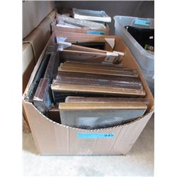 Case of Assorted New Picture Frames