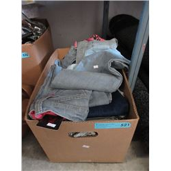 Case of Assorted New Clothing