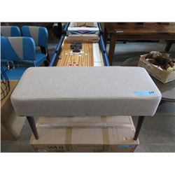 New Porter Upholstered Condo Size Bench - Beige