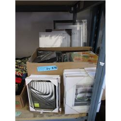 New Photo Albums & Assorted Picture Frames