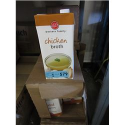 2 Cases of Western Family Chicken Broth