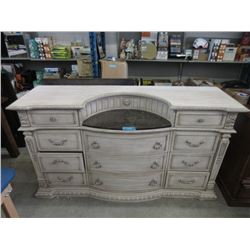 New Bow Front Buffet with Stone Insert