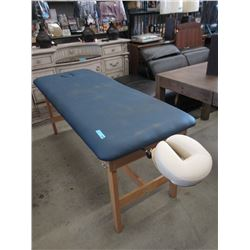 Massage Table with Head Rest