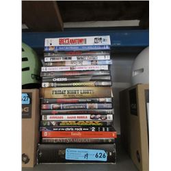19 Assorted DVD Movies