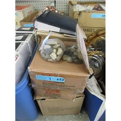 2 Case of New Tumbled Stones & More