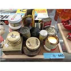 16 Pieces of Vintage Containers