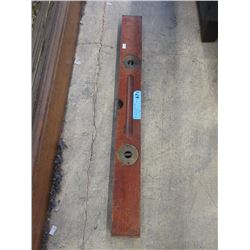 "Vintage 30"" Wood Spirit Level"