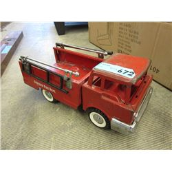 1950s Structo Fire Truck w/ Hose & Ladder