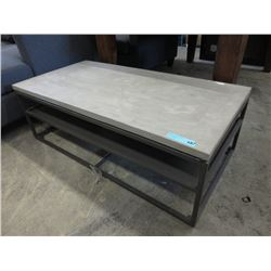New LH Imports Metro Coffee Table w/ Metal Base
