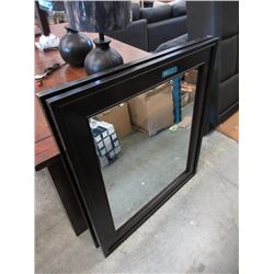 New Large Wood Framed Wall Mirror