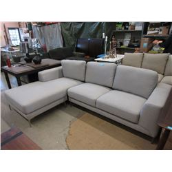 "New Stylus 103"" Upholstered Sectional with Chaise"