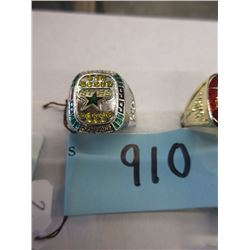 1999  Dallas Stars Stanley Cup Replica Ring