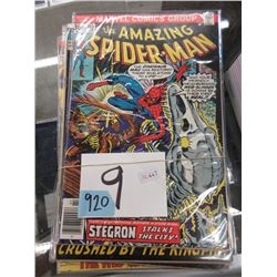9 Spider-Man Comics - 20¢ to 35¢ Covers