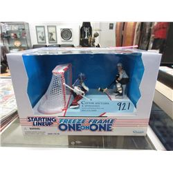 "1997 1997 Roy & Jagr ""Freeze Frame Hockey Figures"