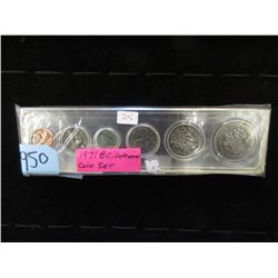 1971 BC Centennial Coin Set - Penny to Dollar