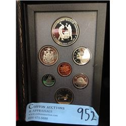 1988 Canadian Double Dollar Proof Coin Set