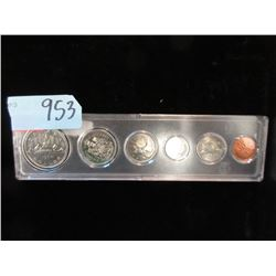 1986 Canadian 6 Coin Set - Penny to Dollar