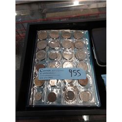 50 Assorted World Coins