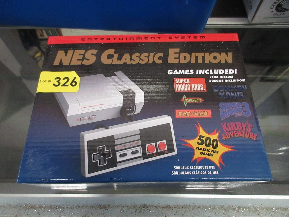 New Nes Classic Edition Mini Console With Games
