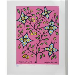 Norval Morrisseau (1931-2007) Litho - 'Tree of Lif