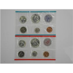 1964 USA UNC Silver Coin Set, Double Pack.