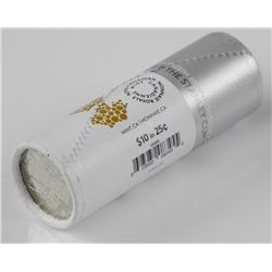 RCM 25 Cent Special Wrap Coin Roll - 125th Anniver